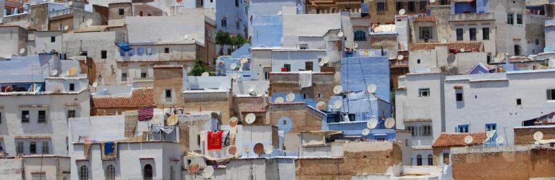 Chefchauen, Severní Maroko (2012)
